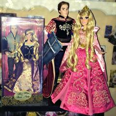Limited Edition Sleeping Beauty dolls (Sakura MoonlightCandyAngel) Tags: sleeping beauty rose store dolls princess prince disney aurora phillip limited edition briar