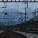 20150525 Alps seen from the train station Arth-Goldau, Switzerland