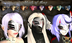 Mask of Fang (EC-Eleran's Craft) Tags: male female 3d furry mask mesh crafts magic helmet sl ornament fantasy secondlife armor warrior neko visor ec accessory zbrush kemono