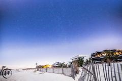 Lbi Stars (jesse_tomasello) Tags: ocean new longexposure beach canon stars landscape eos sand nj lbi longbeachisland jersey 5d starscape