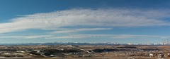 Be here now (Tracey Rennie) Tags: panorama foothills mountain canada rockies alberta impermanence bowriver cochrane wheredallthesnowgo