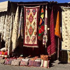 Carpets (yaelgasnier) Tags: travel colors square carpet couleurs colorfull tapis morocco squareformat maroc marrakech marruecos marokko  wonderfulplaces   carpette shotaward vsco beautifuldestinations iphoneography instagramapp instamorocco igworldclub iphone6plus marocphotonet