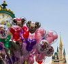 Candy Colors on Main Street (fraucow) Tags: balloons mainstreet disney disneyworld wdw waltdisneyworld cinderellacastle disneycastle disneypictures disneypics disneyphotos disneyimages