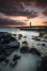 Afterlight (Rodney Campbell) Tags: lighthouse clouds sunrise au australia victoria cpl portfairy gnd09