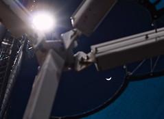 DSC00645-3 (Ripper2860) Tags: light moon night sony structure canvas poles softballfields a6000 sigmaexdg50mmf28macro alpha6000 ilce6000