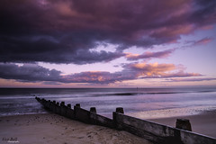 Blyth Groyne (Alex365pix) Tags: sunset sea clouds coast seascapes northumberland groyne blyth northeastcoast cokinz