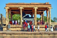 India - Tamil Nadu - Thanjavur - Brihadeshvara Temple - Nandi Shrine - 859 (asienman) Tags: india nandi shiva thanjavur hinduism brihadeshvaratemple asienmanphotography