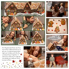 Gingerbread House building 2015 LOAD216 (scrapping PT) Tags: load216