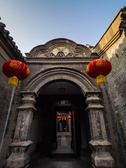 P2220913.jpg (dana.jensen) Tags: family doors arches mansion archways tianjin exits lanternfestival entrances yangliuqing shij