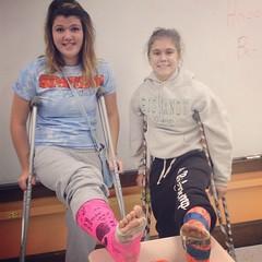 11ad52a11e39e0b22000ab5ba47 (cb_777a) Tags: usa broken foot toes leg cast crutches ankle