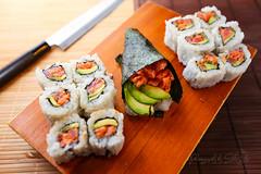 Homemade Spicy Tuna Maki, and Hand Roll (sheryip) Tags: food sushi maki foodporn homemade spicy tuna morgantown handroll