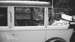 Incredible wedding car! Rupesh and Virgina's wedding day in Oxford by Veiled Productions - wedding photography and videography Cambridgeshire