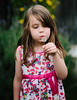 Dandelion Wish (melfoody) Tags: portrait girl beauty childhood canon 85mm dandelion wishing
