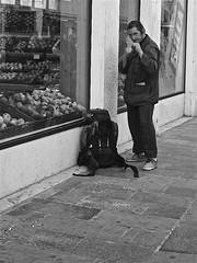 Begging Boxer (Cristiano Baruffaldi) Tags: venice streetphotography beggar boxer zuiko 918 olympous epl2