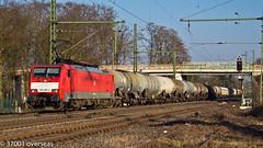 DB 189 066 on EZ 45715 to Gremberg (37001 overseas) Tags: db deutschebahn ratingen dbcargo gremberg kijfhoek 45715 dbschenker 189066 1890664 ratingenlintorf ez45715