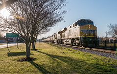 K876 Atmore Alabama. (isaacfulford) Tags: alabama atmore up7860 csxtraink876