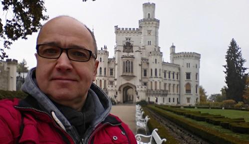 Замок Глубока-над-Влтавой, XIX в. Чехия