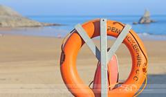 life saver (itsabreeze) Tags: uk sea summer beach wales pembroke coast scenic safety ring pembrokeshire lifesaver healthandsafety stackrock