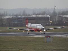 M-GETS Pilatus PC-12 (Aircaft @ Gloucestershire Airport By James) Tags: james airport gloucestershire pilatus pc12 lloyds egbj mgets