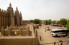 the great mosque (jzielcke) Tags: voyage africa travel west unterwegs adobe mali mudbrick reise djenne sahel  2013