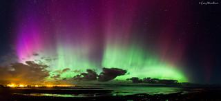Exploding Sky ! - Aurora Borealis, Beadnell, Northumberland