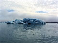 Ice... (mau_tweety) Tags: sea sky ice clouds iceland nuvole mare cielo jkulsrln ghiaccio islanda austurland