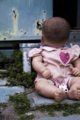 Baby Doll (natasha.kachine) Tags: baby strange dark weird creepy spooky babydoll haunting disturbing disturbed haunt