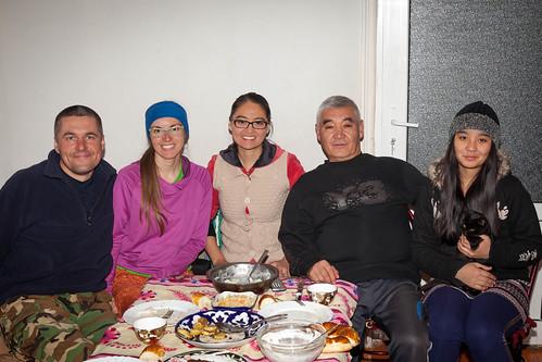 Rodzina Aigul w Osz