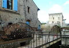 love padlocks (solal16) Tags: old tower love watermill padlocks romanticism