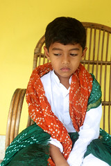 Amma's dupatta (Nagarjun) Tags: kiran tatu kanishka kinu aluva takshila diwali2016