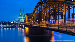 Postcard greeting from Kln (RudyMareelPhotography) Tags: bridge germany europe flickr cathedral dom cologne kln dome rhine klnerdom colognecathedral hohenzollernbridge flickrclickx