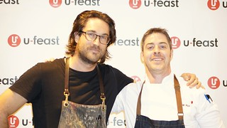 Chef Michael Hunter & Geoff Webb