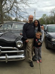 yours truly & company (blue65pv544) Tags: woman ford girl beautiful children adorable grandchildren milf 1950 flathead 1949 shoebox 1951