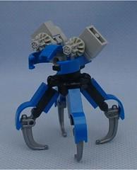 ANQ 3 (Mantis.King) Tags: lego walker scifi futuristic mecha mech moc multiped microscale tripletchallenge mechaton mfz mf0 mobileframezero