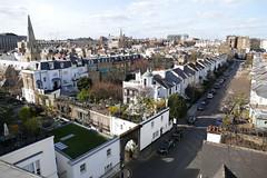over the roof of South Kensington London England (roli_b) Tags: blue houses roof england sky panorama sun house london buildings view terrace south over terrasse panoramic roofs vista kensington dach balcon southkensington dächer overtheroof