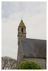 Chapelle Notre-Dame-de-Grce de Travrec - Brec'h (DavidB1977) Tags: france film nikon bretagne fujifilm morbihan f4 chapelle argentique clocher superia200 brech notredamedegrce travrec