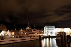 """Bregenz A - """"One night in Bregenz"""" (Lucchese Fabrizio) Tags: austria sterreich barca bregenz"""