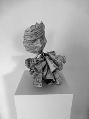mask, speaking (Ines Seidel) Tags: news paper newspaper words wire mask identity language worte speech speaking sprache zeitung maske sprechen draht identität paier zeitungspapier