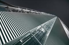 Allianz Tower_ Milan (ilias0zwgrafo) Tags: blackandwhite abstract building geometric skyline architecture skyscraper outdoor milano diagonal ultrawide hdr