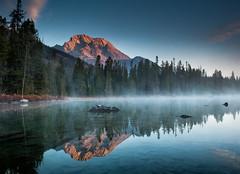 string_lake (Bill Young) Tags: mountain lake reflection wyoming mountmoran tetons grandtetonnationalpark jakson stringlake