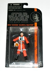 star wars the black series 2013 wave 1 #04 biggs darklighter a new hope hasbro 3.75 inch action figures mosc a (tjparkside) Tags: new orange black four hope star outfit inch action bs 04 helmet flight wing anh x suit weapon hero figure packaging series sw xwing wars tbs iv figures biggs pilot episode blaster hasbro 375 darklighter 2013 removeable