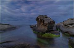 Roques Planes. (antoniocamero21) Tags: costa color marina mar foto sony playa paisaje girona amanecer cielo planes catalunya brava platja calonge roques