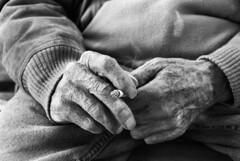 IlGiovediDiDomenico_14 (Naraphotos) Tags: portrait bar hands hand tram oldman mani mano spaghetti autobus ritratto caff reportage domenico sigarette panchina trattoria solitudine rotaie anziano amatriciana stampella gioved tranquilli
