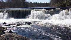 P1190779 (Rimager) Tags: water river waterfall dam fallingwater