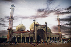 Jama Masjid (sanyagupta09) Tags: travel sky india beautiful architecture photography niceshot delhi mosque photooftheday bestshot jamamasjid travelphotography sonyalpha