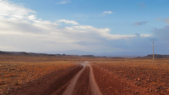 Road to the Fint Oasis (nyoz_fr) Tags: travel mountains cat morroco maroc atlas
