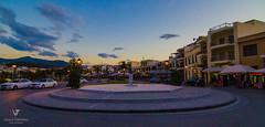 Rethymno (Vasilis Tsimitras) Tags: road old city tourism landscape town village taxi wideangle greece crete rethymno