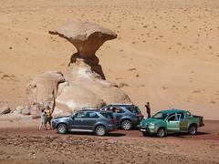 Party in desert (Igor Sorokin) Tags: travel party people cars lumix sand rocks asia desert wadirum middleeast ps tourists panasonic jordan pointandshoot dmc pointnshoot