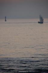 DSC01276 (ZANDVOORTfoto.nl) Tags: sunset sea sun sailboat race boats sailing noordzee zee northsea classics sail regatta zon zandvoort rotc schiffe aan segelschiffe ondergaande raceoftheclassics