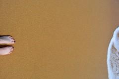 Me and the sea (agnes.mezosi) Tags: sea yellow sand minimal simplicity minimalism sands minimalistic minimalist minimalart